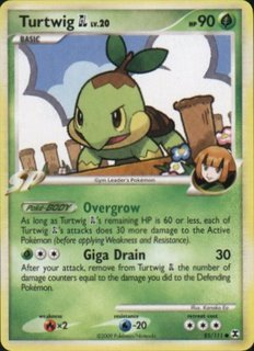 Rising Rivals 85/111- Turtwig