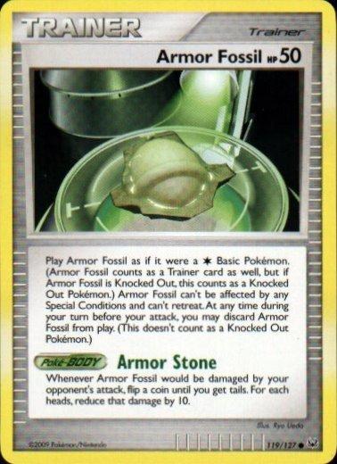 Platinum 119/127- Armor Fossil