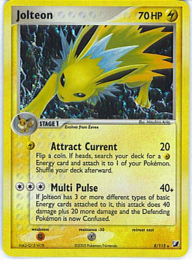 Unseen Forces 8/115- Jolteon