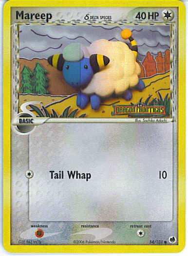 Dragon Frontiers 54/101- Mareep (Reverse Holo)