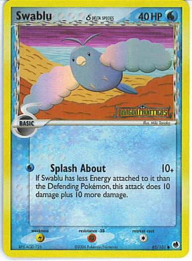Dragon Frontiers 65/101- Swablu (Reverse Holo)
