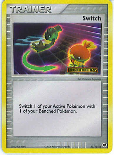 Dragon Frontiers 83/101- Switch (Reverse Holo)
