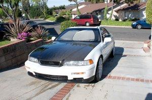1991-1995 Acura Legend 2-door OEM style carbon fiber hood