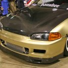 1992-1995 Honda Civic 2/3-door SPOON style carbon fiber front lip