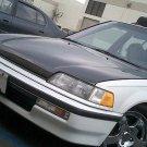 1988-1991 Honda Civic 4-door OEM style carbon fiber hood
