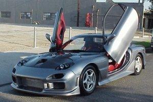 1993-1997 Mazda RX-7 FD3S Redline VLS door kit