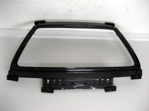 1988-1991 Honda Civic 3-door hatchback OEM style carbon fiber rear hatch lid