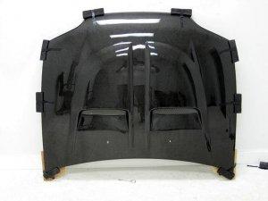 1992-1995 Honda Civic 2/3-door XGT style carbon fiber hood