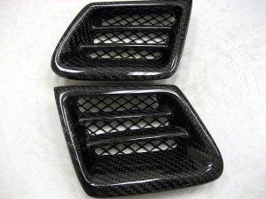 1992-1996 Honda Prelude OEM headlight grill insert