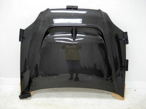 1996-1998 Honda Civic 2/3/4-door MON style carbon fiber hood