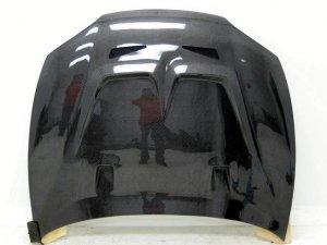 1997-1999 Hyundai Tiburon JUN style carbon fiber hood