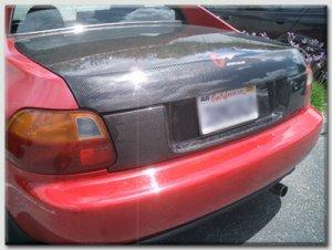 1993-1997 Honda Del Sol OEM style carbon fiber tail garnish