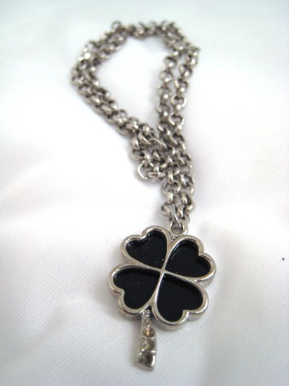 Black Clover Necklace