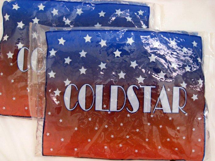Coldstar heat/cold pad reheatable 100 times. Microwavable (X2)
