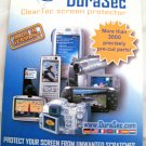 Durasec cleartec screen protector for camera,phone,video,gps,apple