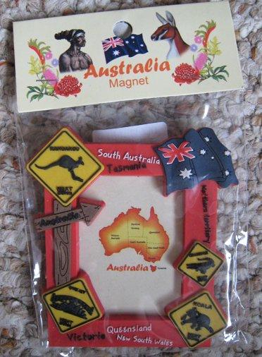 Australia picture frame magnet