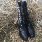 Genuine Leather Women's Western R Toe Boots Size 6B