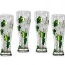 Shamrock Pilsner Glasses (set of 4)
