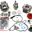 KLX110 TB 165cc Bore Kit, Race Head V2, and 28mm Carb Kit