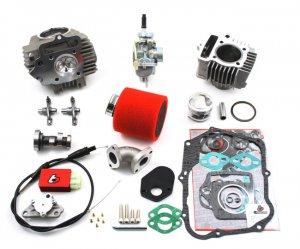 CRF70 XR70 88cc Bore Kit Race Head Carb Kit & Race Cam