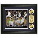 "New York Yankees 2009 World Series Champions ""Core Four"" 24kt Gold Coin Photo Mint"