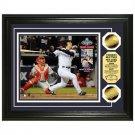 New York Yankees 2009 World Series Champions MVP Hideki Matsui Photomint w/ 2 24KT Gold Coins