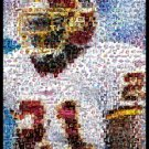 Sean Taylor Washington Redskins montage mosaic pop art print limited signed coa 1-25