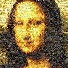Amazing Mona Lisa World Travel Montage limited signed coa 1-25