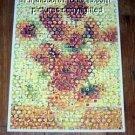 Amazing Sunflowers flower Montage limited signed coa 1-25