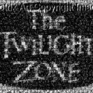 Amazing 30 X 24 CANVAS The Twilight Zone TITLE montage