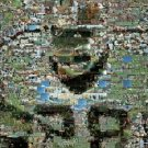 Washington Redskins Darrell Green Super Bowl 17 montage limited signed coa 1-25