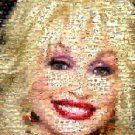 Amazing Dolly Parton horses/flowers/butterflies Montage limited signed coa 1-25