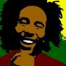 SC Bob Marley pop art print 1 of 25 w/signed COA