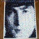 Amazing 1964 John Lennon face The Beatles montage RARE limited signed coa 1-25