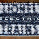 Amazing vintage LIONEL ELECTRIC TRAINS sign montage limited signed coa 1-25