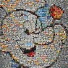 Amazing Popeye The Sailor Man cartoon scene montage WOW limited signed coa 1-25