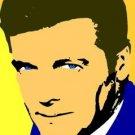 SC James Bond Roger Moore pop art 1 of 25 w/signed COA