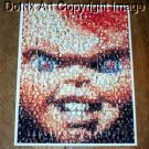 Amazing Childs Play CHUCKY Movie Monster Montage #ed limited signed coa 1-25
