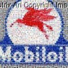 Amazing Gas/Oil Mobiloil Montage 1 of only 25