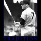 RARE Framed NY Yankees Mickey Mantle TRADITION Poster