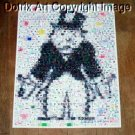 Amazing Rich Uncle Pennybags body MONOPOLY montage 1-25 signed coa