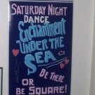 RARE Back To The Future Dance Poster BIG Full-Size prop