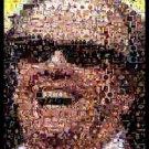 Amazing Jack Nicholson Lakers Montage. Artist signed coa 1-25