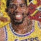 Amazing LA Lakers Magic Johnson Montage numbered to 25