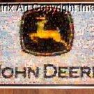 AMAZING John Deere Americana Montage #ed artist signed 1-25