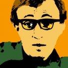 SC Woody Allen pop art print 1 of 25 w/signed COA