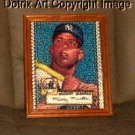 Amazing Topps Mickey Mantle Yankees rookie card Montage limited signed coa 1-25