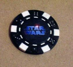 Star Wars Las Vegas Casino Poker Chip limited edition