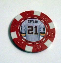 Sean Taylor Las Vegas Casino Poker Chip limited edition