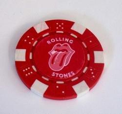 The Rolling Stones Las Vegas Casino Poker Chip lim ed